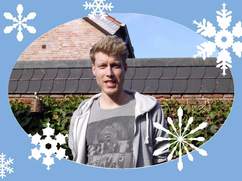 Bilder Sofortbildkamera Winter Rand