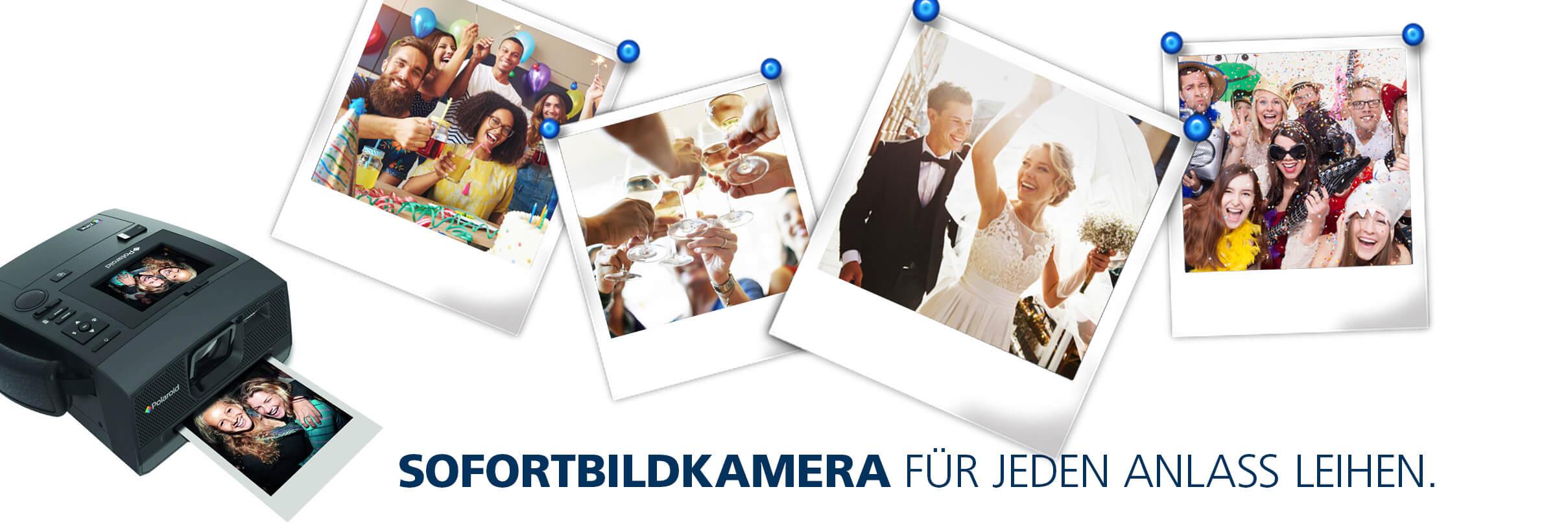 Polaroid – Sofortbildkamera für jedes Event leihen !